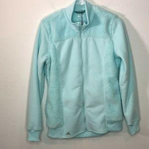 Adidas Golf Women Full Zip Climacool Fleece Jacket